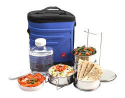 Cello Archo 3 Container Lunch Packs, Blue