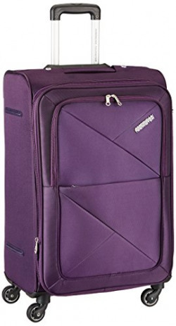 American Tourister Peru Polyester 55 cms Purple Soft Sided Carry-On (AMT PERU SP 55CM EXP - PURPLE)
