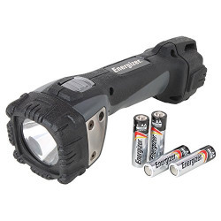 Energizer Professional LED Light Hardcase 150Lumens PRO4AA, 235Mtr Beam Distance, Weather Proof, Impact Resistant(4 'AA' batteries included)