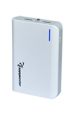 Lappymaster Power Bank 10400mah With dual USB Port