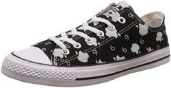 Converse Men's Black Sneakers - 7 UK/India (40 EU)(151127C-CT OX)