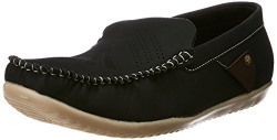 Albert & James Men's Black Loafers and Mocassins -10 UK/India (44 EU)(11 US)