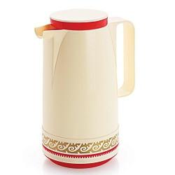 Cello Nexus Vacuum Flask, 1 Litre, Red