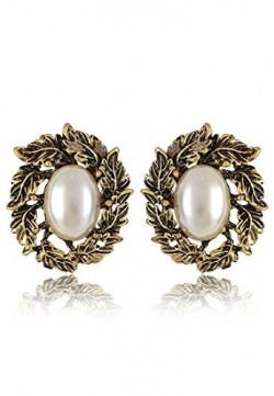 Shining Diva Stylish Fancy Party Wear Stud Earrings For Girls and Women