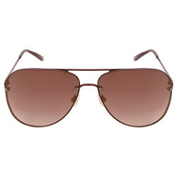 Tommy Hilfiger UV Protected Aviator Unisex Sunglasses - (7877 Brnbr 34 C5 61 S|61|Brown Color)
