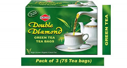 Duncans Green Tea - Pack of 3 (Get 2 Units of Instant Coffee pack free worth Rs 20)