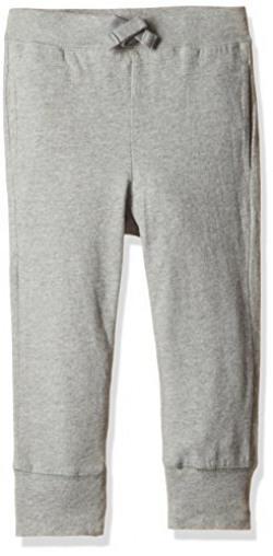 GAP Boys Solid Jogger Pants (67101901001_Grey Heather_3YRS)
