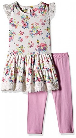 Mothercare Baby Girls' Dress (H2778_White_9-12 M)