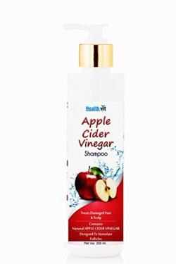 Healthvit Apple Cider Vinegar Shampoo, 200ml