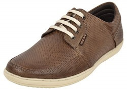 Red Tape Men's Brown Leather Boat Shoes - 8 UK/India (42 EU)
