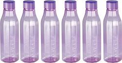 Nayasa Bold PET Fridge Bottle, Set of 6, Purple