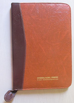 Shyamaraj Document Keeping Letherette Special Zip File - 20 Leaves