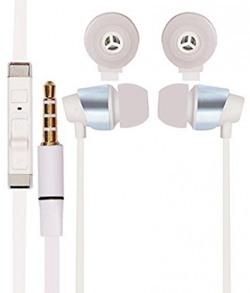 RASU stylish earphone white Compatible with Apple iPhone 6