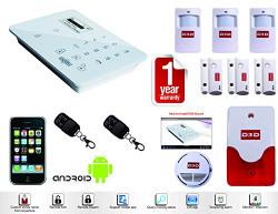 D3D Security System Burglar Alarm Wireless Gsm