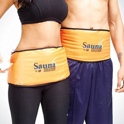 SHOPTOSHOP Sauna Belt Slimming Healthy Diet Fat Burner Exercise Weight Lose
