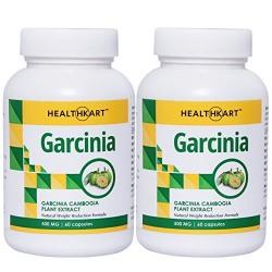HealthKart Weight Management Combo - Garcinia Cambogia with 65% HCA (Pack of 2)