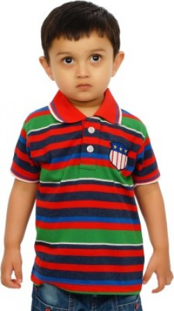 Shaun Boys Striped T Shirt