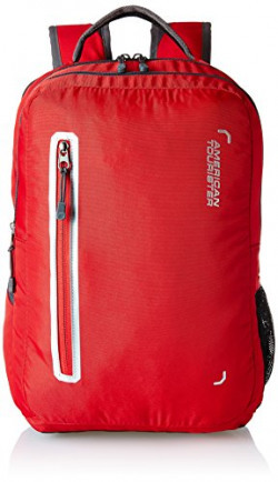 American Tourister Polyester 32 Ltrs Red Laptop Backpack (AMT BOP 2017 LAPTOP BKPK 4-RED)