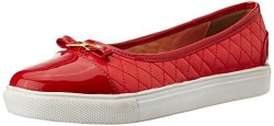 Lavie Women's Red Sneakers - 3UK/India (36 EU)