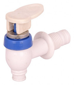 IRP Plastic Taps (White, Pack of 12)