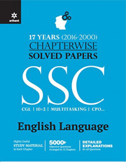 Chapterwise Solved Papers SSC Staff Selection Commission English Language 2016