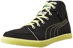 Puma Men's Drongos Idp Puma Black and Limelight Sneakers - 11 UK/India (46 EU)
