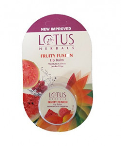 Lotus Herbals Lip Balm Fruity Fusion, 5g