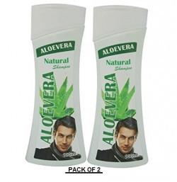 Aloevera Natural Shampoo Men 100 ml ( pack of 2 ) By AryanShakti