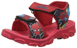 Spiderman Boy's Red Sandals and Floaters - 10 UK/India (28 EU)