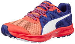 Puma Women's Descendant Tr Wn Red Blast, Royal Blue and Puma White Trail Running Shoes - 3 UK/India (35.5 EU)
