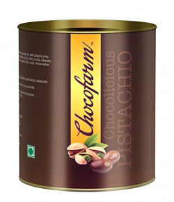 Chocofarm chocolate confection coated (covered)Roasted crunchy Pistachio   Gift pack Pista Chocolates