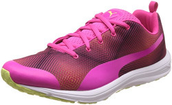 Puma Women's Evader Xt V2 Graphic Pink Glow and Sharp Green Multisport Training Shoes - 3 UK/India (35.5 EU)