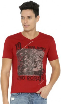 Roadster Printed Men's T-Shirt from 149