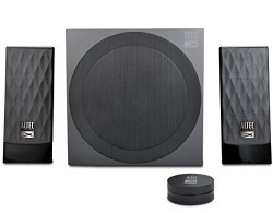 Altec Lansing Lozenge AL-SND340F 2.1 Home Audio Speaker (Black)