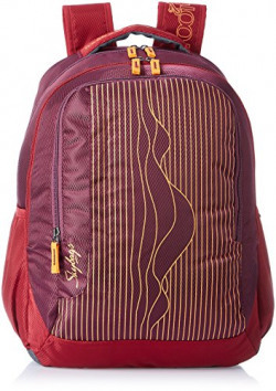Skybags Helix 29.5 Ltrs Red Casual Backpack (BPHELFS1RED)