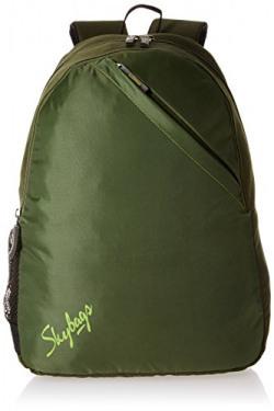Skybags Brat 21 Ltrs Olive Casual Backpack (BPBRA3OLV)
