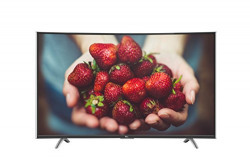 TCL 121.92 cm (48 inches) C48P1FS Full HD Curved Smart LED TV (Black)