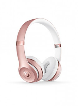 Beats Solo 3 MNET2ZM/A Wireless On-Ear Headphones (Rose Gold) with Mic