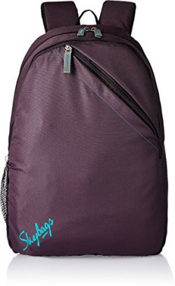 Skybags Brat 21 Ltrs Purple Casual Backpack (BPBRA6PPL)
