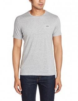 IZOD Men's T-Shirt (8907259772097_ZMTS0034_Medium_Grey Melange)
