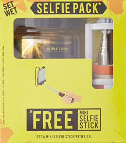 Set Wet Ultimate Hold Hair Gel, 250ml with Free Mini Selfie Stick