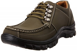Bata Men's Rox Brown Trekking and Hiking Boots - 9 UK (8214094)