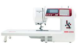 Usha Janome Dream Maker 120 35-Watt Computerized Sewing Machine (White)