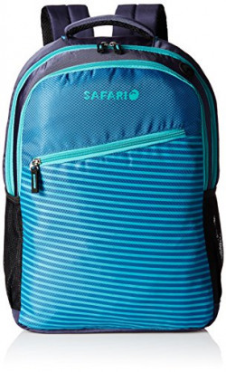 Safari 25 ltrs Casual Backpack (Slide-Blue-CB)