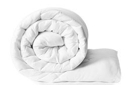 Solimo Microfibre Comforter, Double (White, 200 GSM)