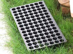 Unique Plastic Greenhouse Tray Set (Black, 5-Pieces, 0.7mm)
