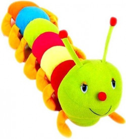 SS Mart Cute Colorful Caterpillar soft toys - 120 mm