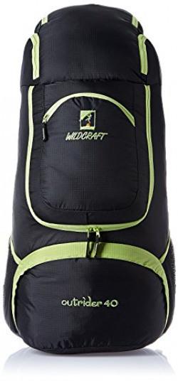 Wildcraft Outrider 40 Nylon Green Hiking Backpacks and Rucksacks(8903338013624)