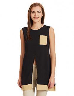 Shakumbhari Women's Tunic Shirt (SW-810-L_black)