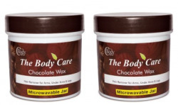 The Body Care chocolate hot wax 200g pack of 2 wax